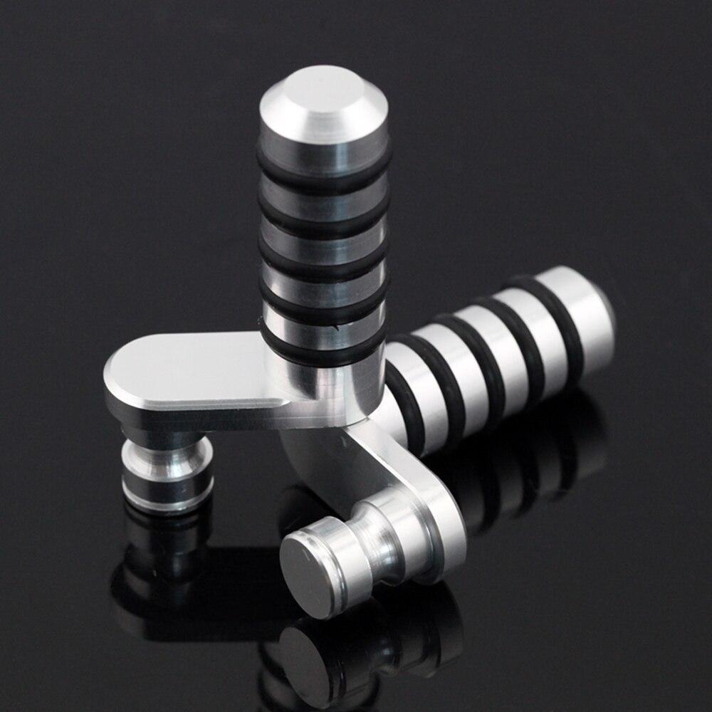 Brake Pedal & Shifting Lever Toe Peg For Aprilia Tuono V4 1100/1000, Dorsoduro 750/1200, RSV 1000 Mille Motorcycle CNC Aluminum