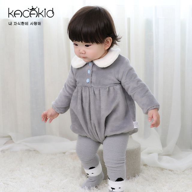 0e1f2b380 Kacakid children s baby girls boys long sleeve Bodysuits Kids ...