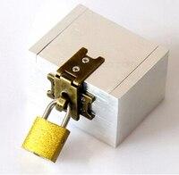 Free Shipping Strong Box Revolutionary Irrefutable Box Magic Props Magic Tricks