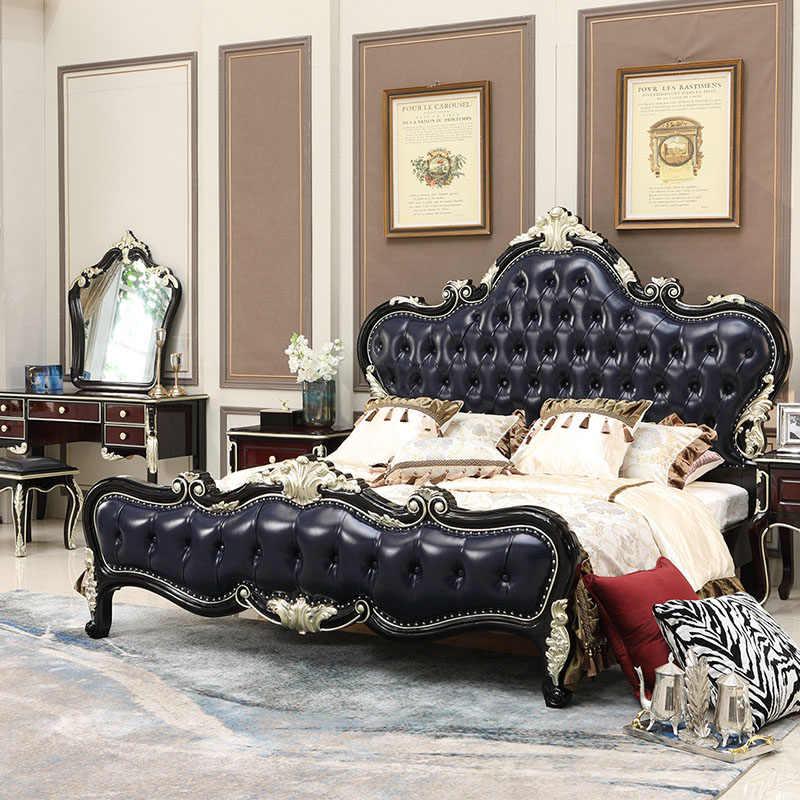 Home Furniture Design Royal Black King