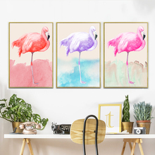 Lightpad 5D DIY Diamond PaintingAnimal Flamingos Party Embroidery Full Square Cross Stitch Mosaic Visual Paintings
