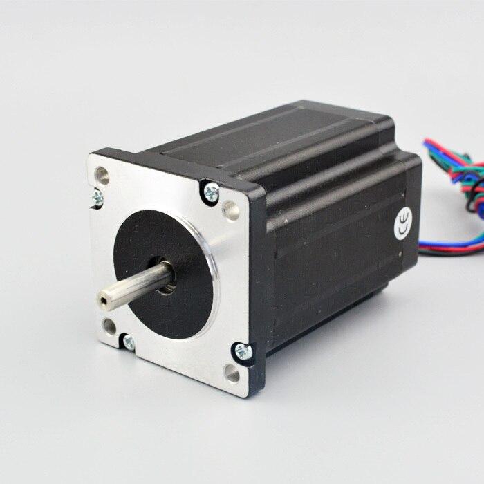 [Hot Sale!] Nema 24 stepper Dual Shaft stepper motor CNC Stepper Motor 3.5A 3.1Nm(439 oz.in) 4 Leads for CNC Router 60x60x88mm hot sale mini router cnc fast speed