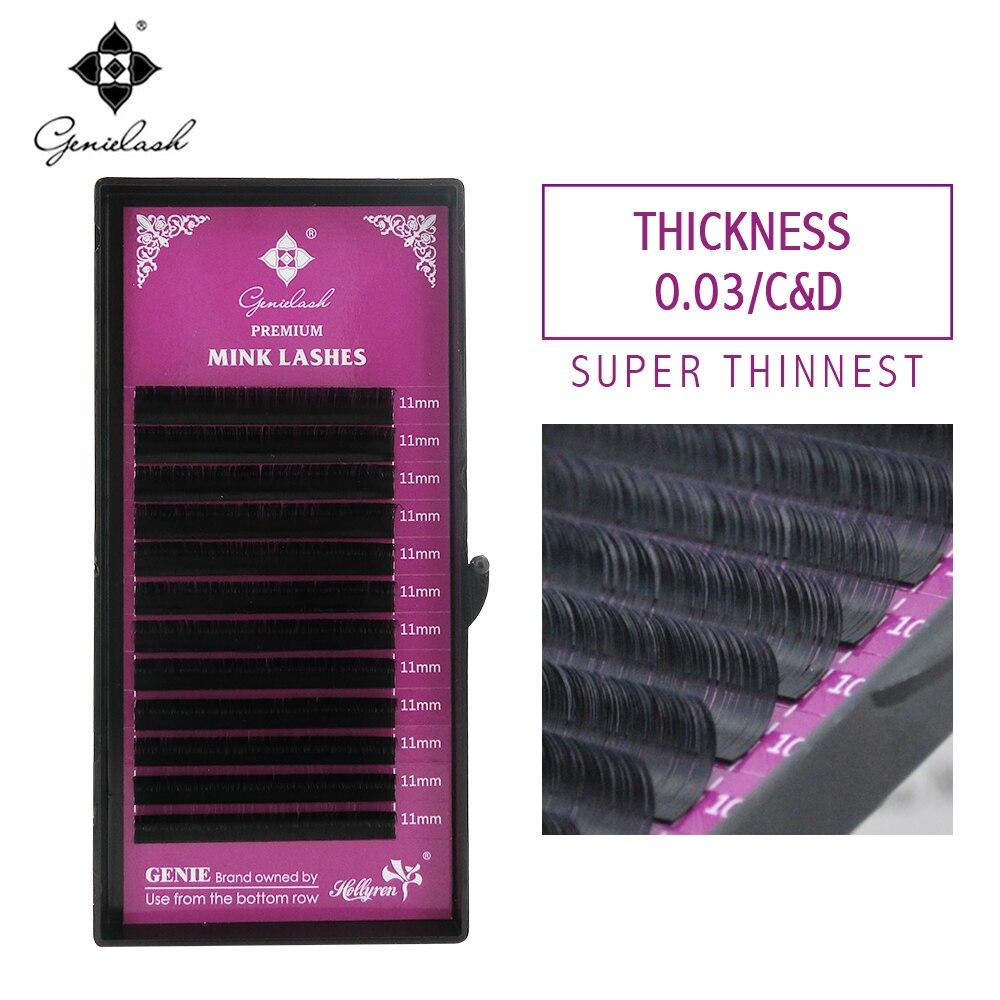 Güzellik ve Sağlık'ten Yapma Kirpikler'de 0.03 C/D kıvırmak 10 adet Vizon Malzeme Kirpik Uzatma ücretsiz kargo süper ince ve Yumuşak Tepsi Lashes'da  Grup 1