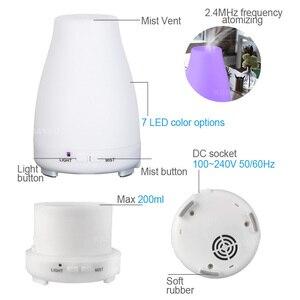 Image 3 - Kbaybo アロマエッセンシャルオイルディフューザーアロマ空気 humidfier コールドクールミストメーカーリモートコントロール led 用