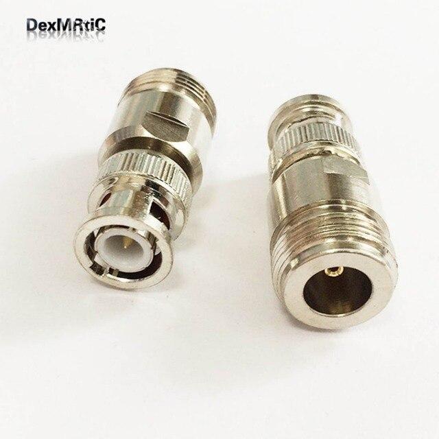 1 PC antena WIFI adapter N żeńskie gniazdo na BNC wtyk męski koncentryczny RF konwerter prosto niklowane nowa hurtownia