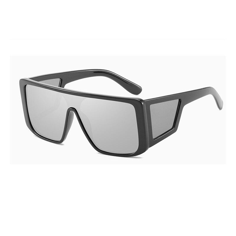 Männer Retro Sonnenbrille Neue 2019 Mode Goggle Sonne Schatten Gläser Tempel Objektiv Brille Großen Platz Rahmen Männlichen Brillen L3