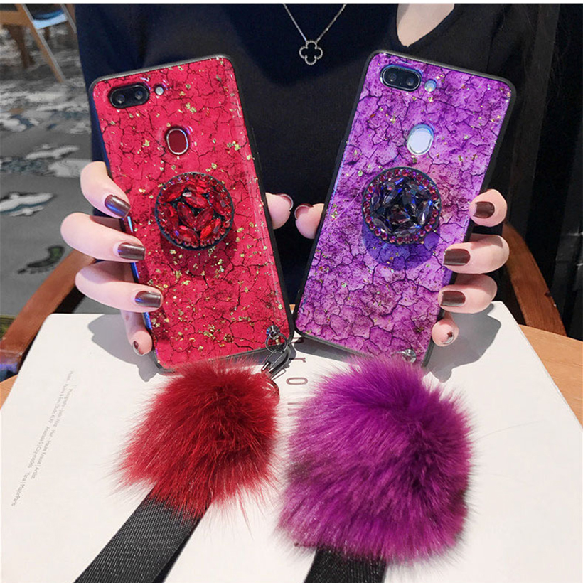 Plush Bling <font><b>Cases</b></font> For <font><b>Huawei</b></font> <font><b>Y7</b></font> Pro Y6 Prime Y9 Y5 <font><b>2019</b></font> 2018 2017 P30 Lite P20 Pro P10 P9 P8 Lite 2017 Covers image