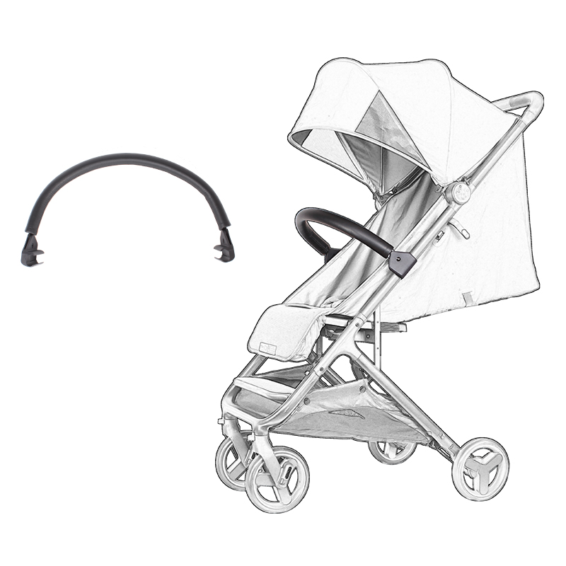 Xiaomi Baby Stroller Armrest Bumper Bar Baby Carriages Pram For Xiao Mi Baby Stroller Accessories Handlebar Pu Leather Cover