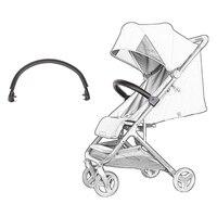 Xiao mi bebek Arabası Kol Dayama Tampon Çubuğu Bebek Arabası Pram Xiao mi bebek arabası Aksesuarları Gidon Pu Deri Kılıf
