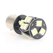 2pcs Turn Signal Light LED 1156 BA15S P21W S25 18 Led 5050 Chips Brake Reverse Lamp Bulb Automobiles Car Accessories Styling 12V
