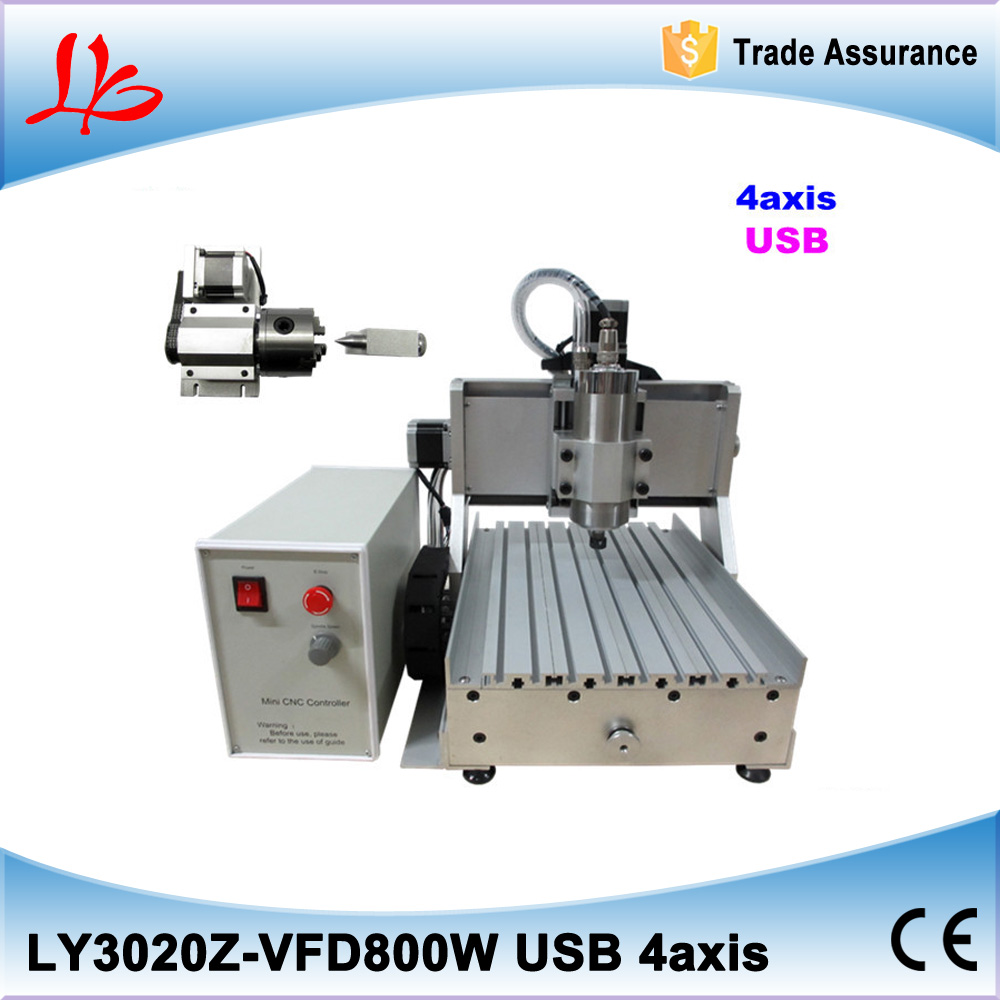 USB PORT CNC Router CNC Engraver Engraving Machine Cutting Machine 3020C 4th Axis Carving Tools Artwork Milling Woodworking cnc 2030 cnc wood router engraver 4 axis mini cnc milling machine with parallel port