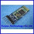 Mestre-escravo HC05 HC-05 6pin JY-MCU anti-reverso, módulo pass-through serial Bluetooth integrado, serial sem fio