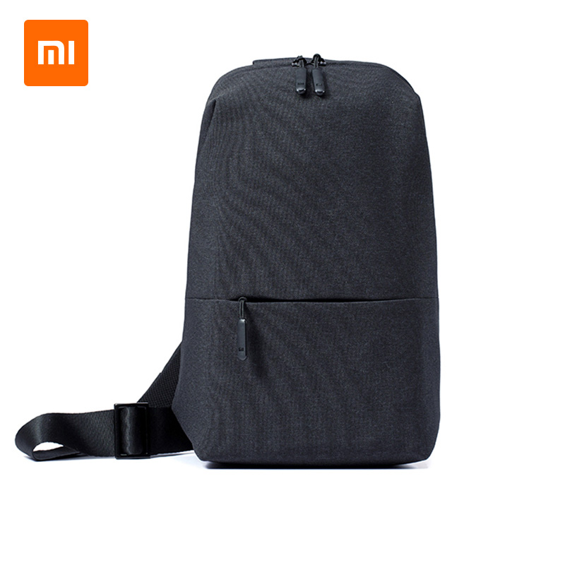 KEMY Original Xiaomi Chest Bag Sling Bag Leisure Chest Pack Small Size Shoulder Type Unisex Rucksack Crossbody Bag 4L Polyester