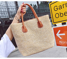 New Fashion Large Capacity Totes Handbag Shoulder Bags For Women Square Straw Bag Summer Rattan Bag Handmade Woven Beach Bohemia new fashion large capacity totes handbag shoulder bags for women square straw bag summer rattan bag handmade woven beach bohemia