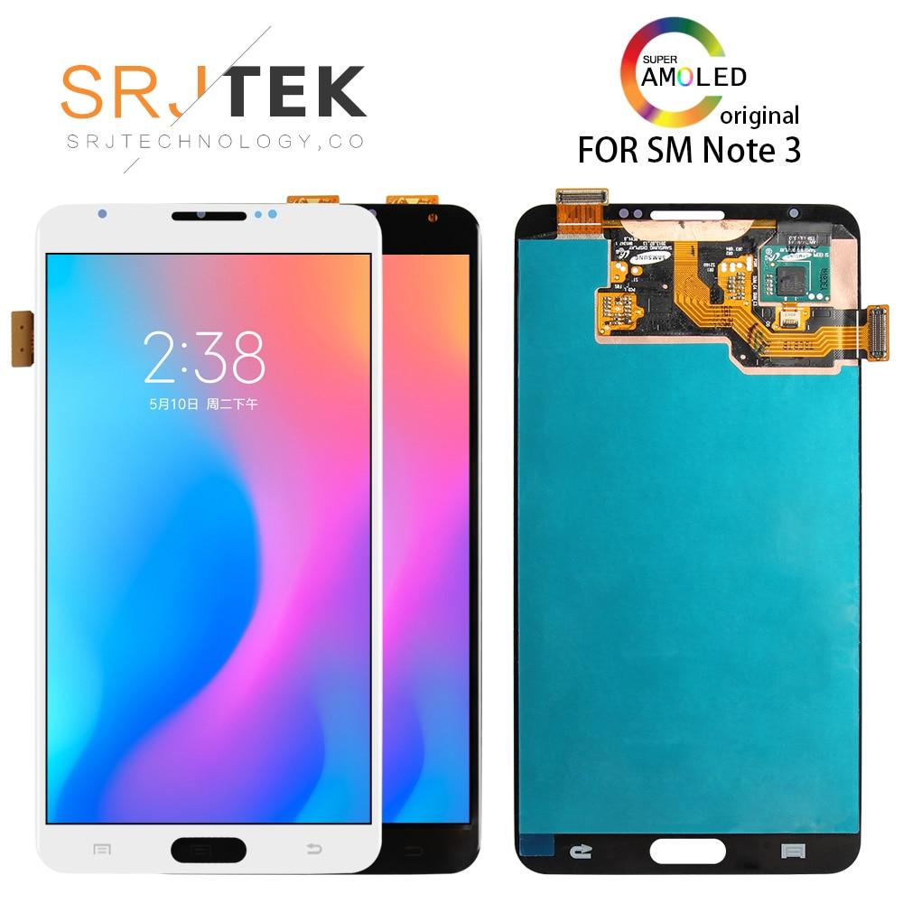 5.7 ''AMOLED LCD pour SAMSUNG Galaxy Note 3 écran LCD Note3 N9005 écran tactile avec cadre N9002 N9006 N9000 N900A