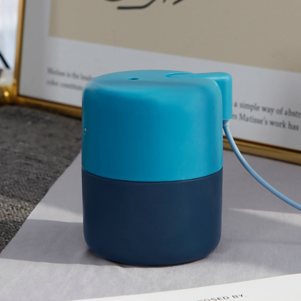 Image 3 - New XIAOMI MIJIA VH Desktop Humidifier Air dampener Aromatherapy diffuser essential oil ultrasonic Warm Mist Quiet Night light-in Humidifiers from Home Appliances