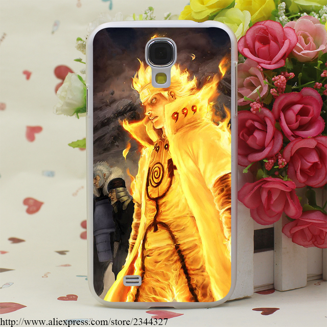 Naruto Transparent Cover for Galaxy