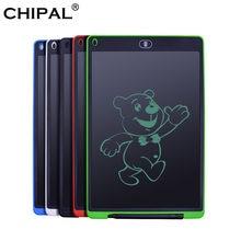 CHIPAL 12 ''cyfrowy Tablet LCD do pisania rysunek graficzny tabletki elektronicznych podkładka do pisma ręcznego farby notatnik z bateria do waporyzatora