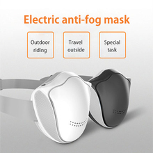 цена на Electric mask anti-fog mask breathable PM2.5 activated carbon smart mask riding equipment outdoor sports mask