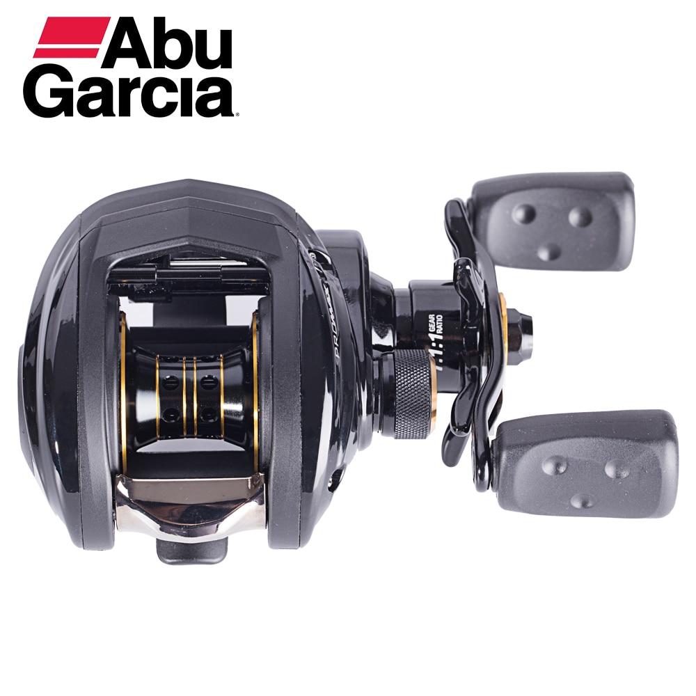 Abu Garcia PMAX3 Baitcasting Fishing Reel Drag Max 8kg 7+1Ball Bearing 7.1:1 Low Profile abu garcia pmax3 right left hand bait casting fishing reel 7 1bb 7 1 1 207g 8kg max drag drum trolling baitcasting reel