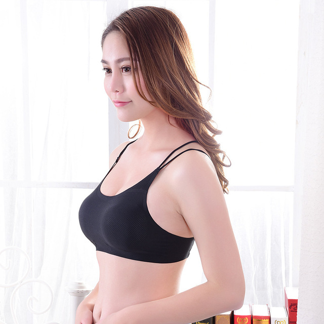 2018 tights gym Yoga tops vest Suspenders sexy  fresh cool seamless sports bra fitness sportswear woman padded sport bra