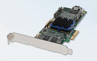 RaidStorage Adaptec RAID 3405 P/N: 2251900-R ASR-3405 4-Port 3Gb/s PCIe Controller SAS Card