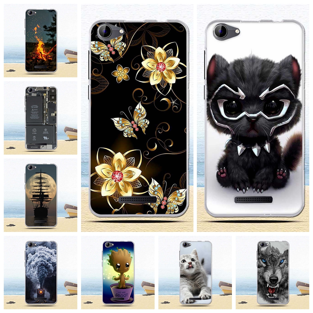 Phone Cases For BQ 5059 Strike Power Case Cute Cartoon Soft Silicone Back Cover For BQS 5059 Strike Power BQS-5059 Case