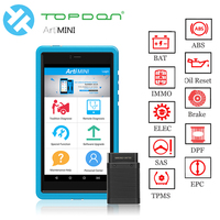 TOPDON Diagnostic TooL ArtiMini KIT All System OBDII Scanner BT/WiFi with 11 Special Function as X431 Pros mini Auto Diagnostic