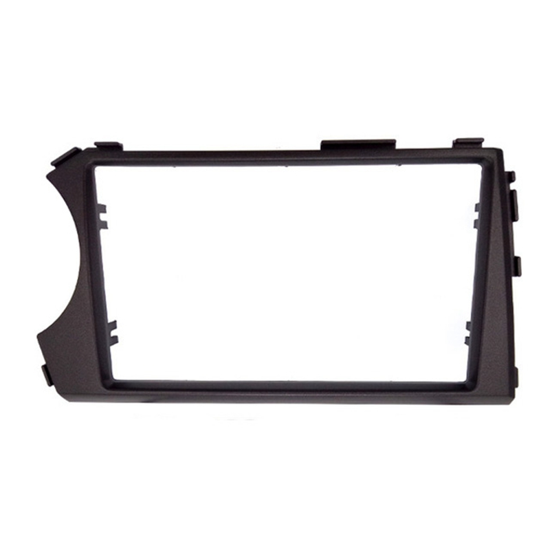 Image 5 - 2DIN Radio Fascia for SSANG YONG Actyon LHD (Left Hand Drive) Facia Dash CD Trim Installation mount Kit facia frame panel-in Fascias from Automobiles & Motorcycles