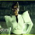 Europa novo estilo rihanna moda top traje cantora dj ds trajes hiphop roupa fase