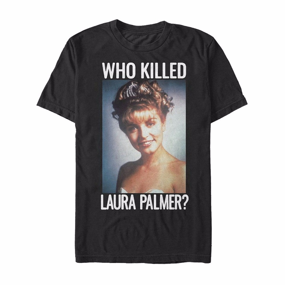 Shirt Sale Short Graphic Twin Peaks Who Killed Laura Palmer Mens Graphic Crew Neck Mens T Shirts