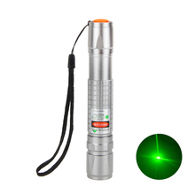 Wholesale Powerful Zoomable Green Laser Pointer Pen Beam Light 5mW Lazer High Power 532nm