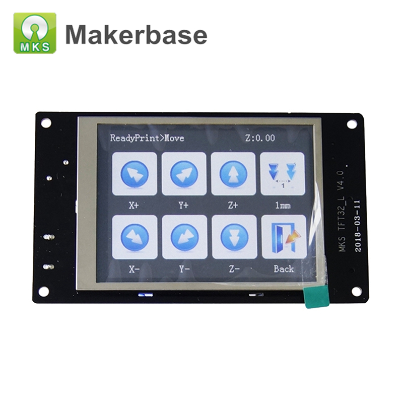 MKS TFT32 V4 0 Touch Screen Smart Controller Display 3 2 inch Splash Screen For MKS