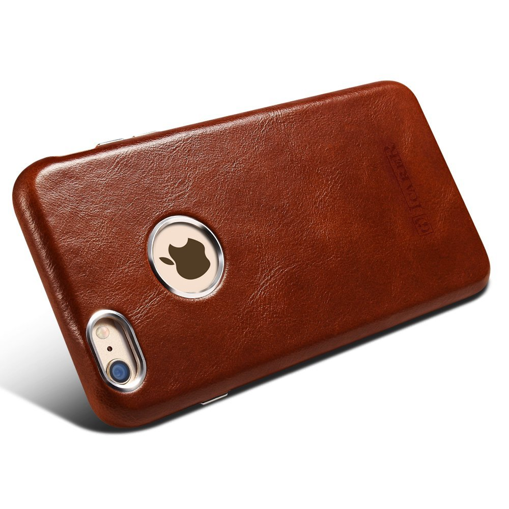 Icarer Genuine Leather Case Cover For Iphone 6 Plus Retro For Iphone