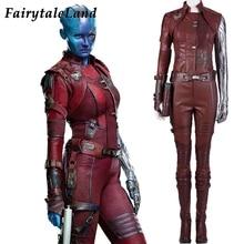 Mgławica kostium Halloween kostiumy Avengers Endgame Cosplay zło mgławica strój strażnicy galaktyki seksowny kostium wykonany na zamówienie