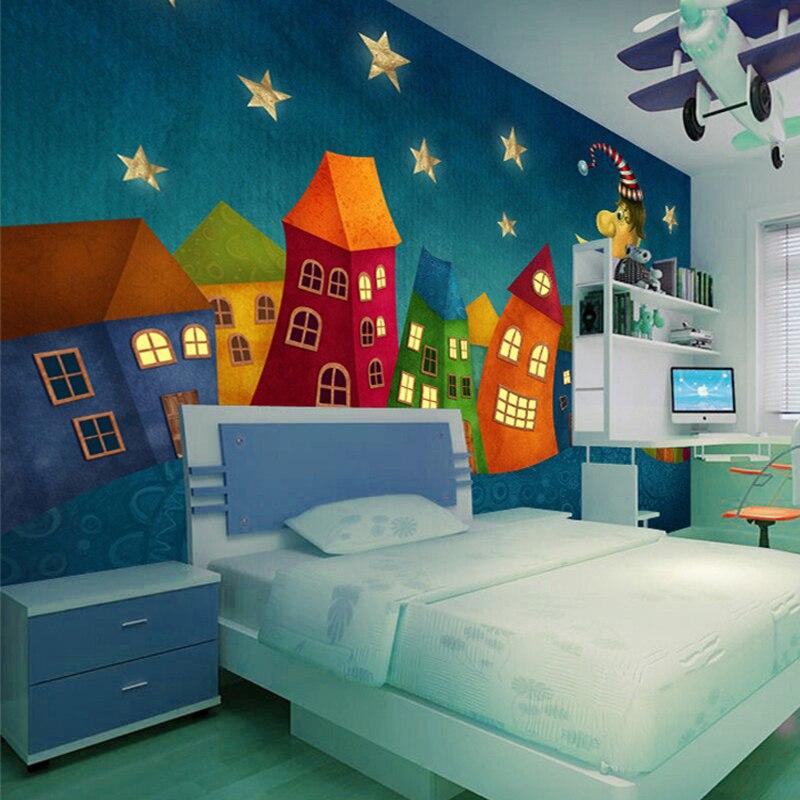 online get cheap tapete wandbild cartoon schloss alibaba group. Black Bedroom Furniture Sets. Home Design Ideas