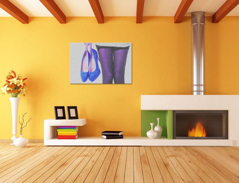 Cute Shoes Wall Art Pictures Inspiration - Wall Art Design ...