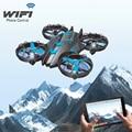 JXD 515 W wifi fpv drone 2.4g 4ch WIFI en tiempo real transmision Hode Altitud helicóptero de control remoto con $ NUMBER MP cámara de ALTA DEFINICIÓN