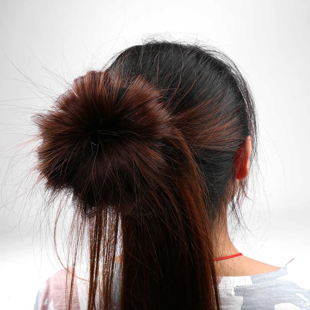 Hacer moños en el pelo Donut esponja de espuma mágica fácil anillo grande herramientas de estilismo para el cabello productos peinado accesorios para el cabello para niñas mujeres señora