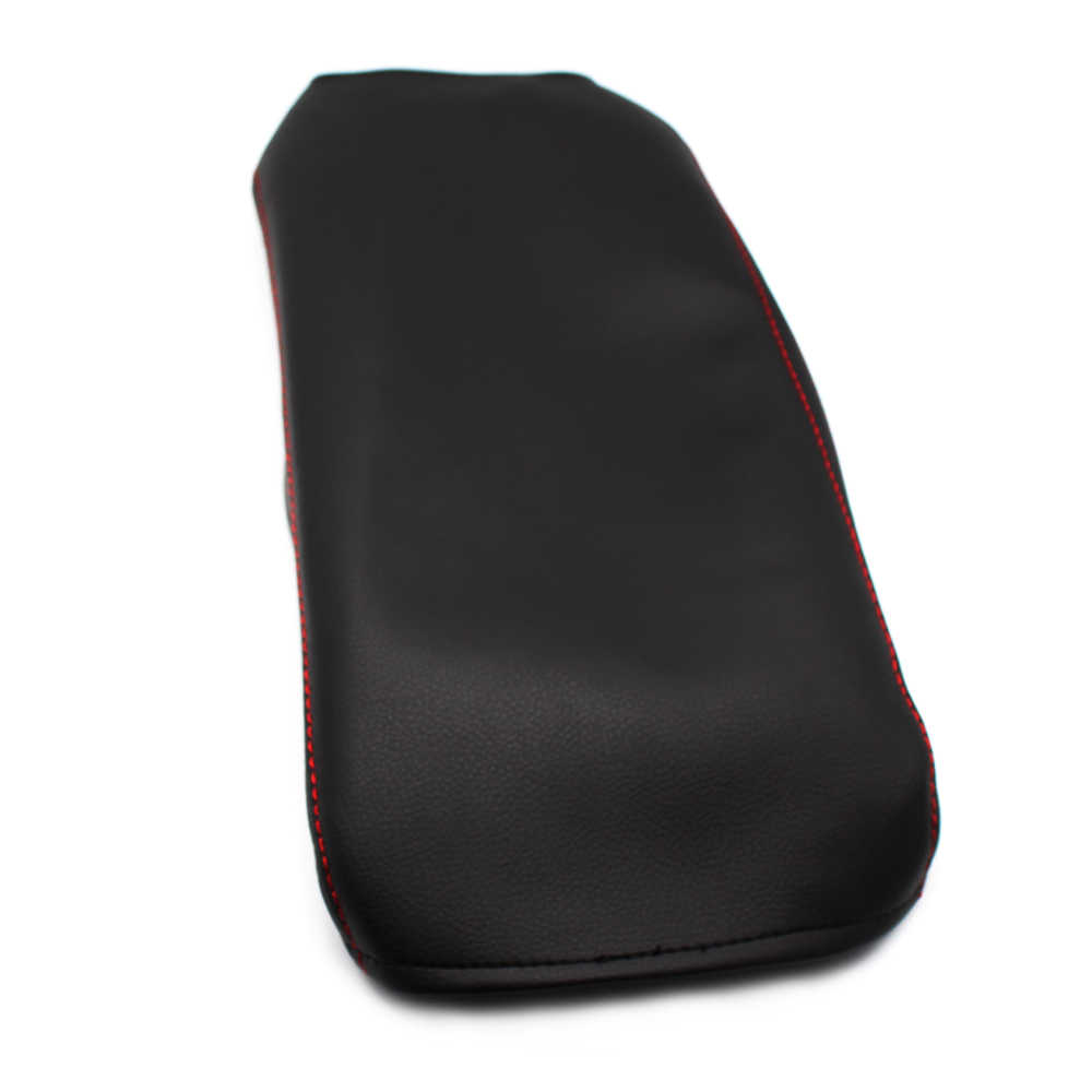 For Nissan Qashqai 2008 2009 2010 2011 2012 2013 2014 2015 2016 2017 Car Center Armrest Box Microfiber Leather Cover