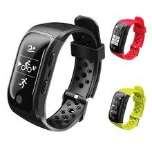 S908 GPS Smart Band IP68 Водонепроницаемый спортивные группы GPS чип мульти-спорт сердечного ритма Мониторы шагомер вызов напоминание смарт браслет
