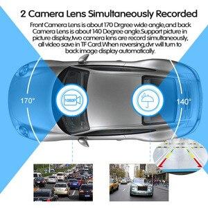 Image 4 - E ACE 7.0นิ้วรถDvrกระจกมองหลังTouch Dashกล้องบันทึกวิดีโอFHD 1080P Dualเลนส์ด้านหลังกล้องDashcam