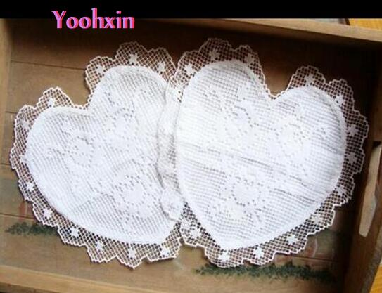 HOT White lace embroidery table place mat cloth pad cotton cup holder drink trivet coaster Christmas doily mug placemat kitchen