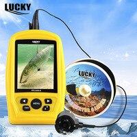LUCKY FF3308 8 Рыболокаторы Подводный Видео Камера с 4 шт. Инфракрасные светодиоды инфракрасный Ночное видение 120 градусов Рыболокаторы