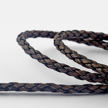 цена на 5meter Braided Weaved PU Round Leather Cord For Necklace Bracelet&Bangle Jewelry Making Findings Material Rope