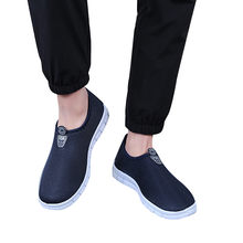 Men's Casual Sneakers Slip-On Shoes Men's Comfortable Footwears Loafers Shoes Zapatillas de deporte hombres#F3(China)