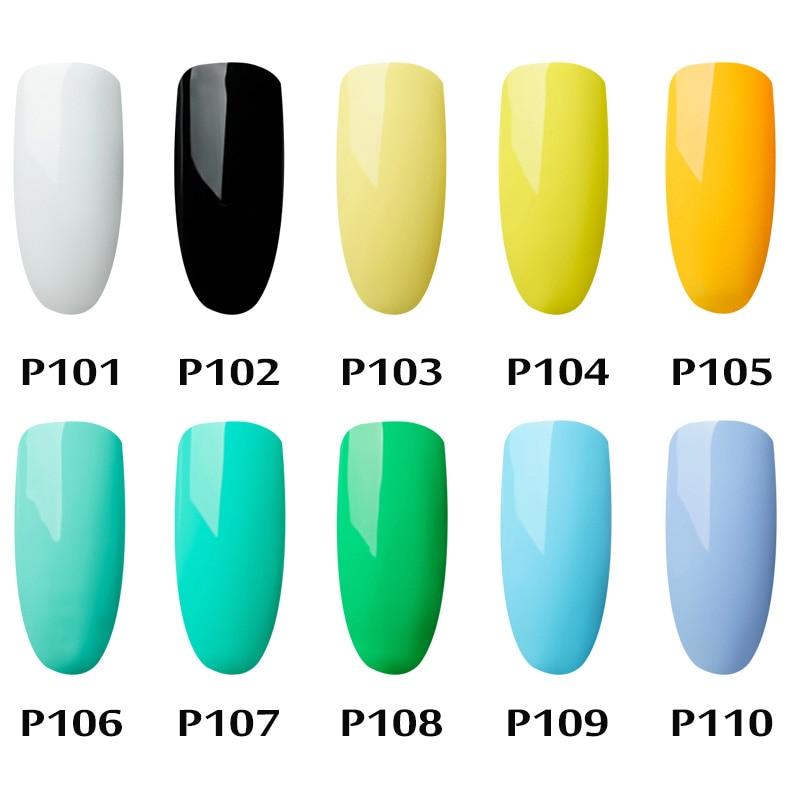 Pintura Gelfavor 5 ml Vernizes de Gel Unhas de Gel Da Arte Do Prego Brilho UV Laca Precisa Top Base de Gel Unha Polonês Prego arte Para uma Manicure 1