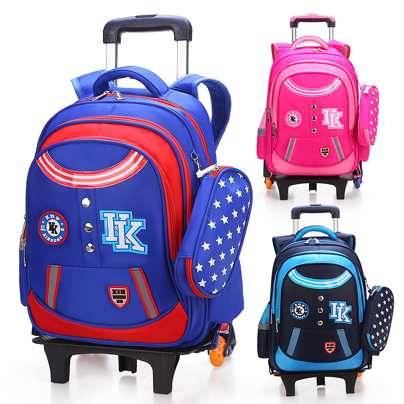 2PCS/SET kids luggage child Pencil case+ school bag students Boy's girls climb stairs rolling suitcase Children travel backpack 2pcs set kids luggage child pencil case school bag students boy s girls climb stairs rolling suitcase children travel backpack