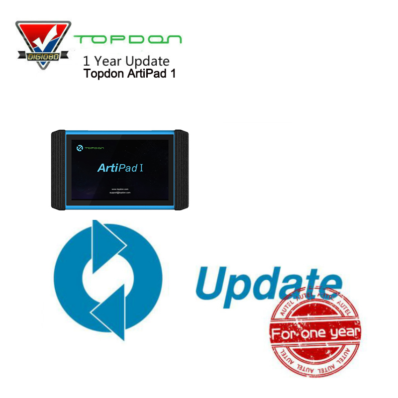 Topdon ArtiPad 1 Software Update for another 1 Year out of Free Update Framework