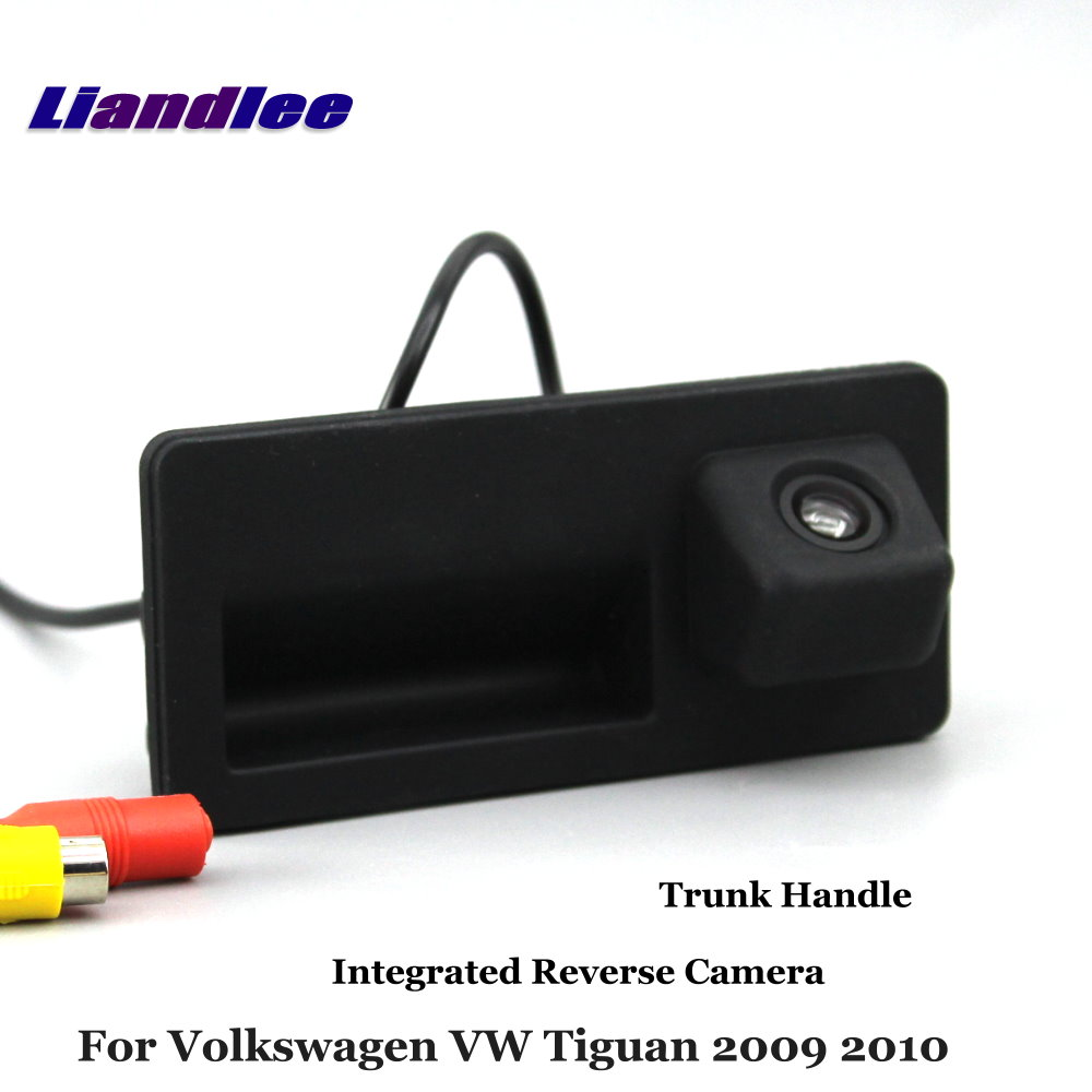 Liandlee For Volkswagen VW Tiguan 2009 2010 Car Reverse Camera Rear View Backup Parking Camera Integrated